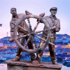 Fishermen In Sculptural Heritage