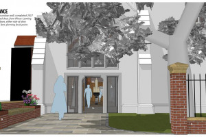 a-entrance.jpg - Living Space- Community on Parsons Green