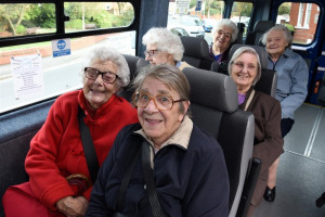 minibus-passengers.jpg - A New Minibus - for elderly and disabled