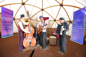 7-meter-dome.jpg - 'Rewired' Busking and Music Therapy