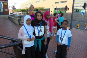 Butetown Mile girls.jpg - The Butetown Mile is back!