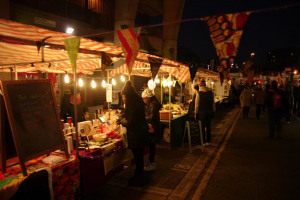 l-gertrude-s-stall-night-time.jpg - TWIST POP-UP ON STATION RISE TULSE HILL