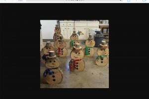 wooden-snowmen.png - Recycled wood workshop for young homeles