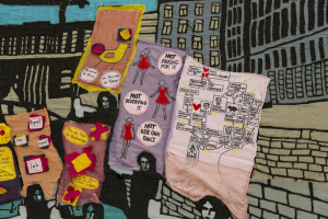 gu-nes-terkol-against-the-current-detail-2013-embroidery-on-fabric-200-x-300-cm-courtesy-the-artist.jpg - Art on Middlesex Street Estate