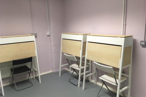 finished-desks.jpg - Hoxton Hall Youth Music Shout Out!