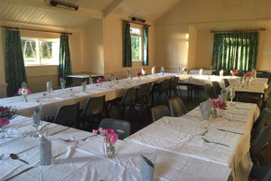 harvest-supper-tables.jpg - Take a seat at North Witham Village Hall