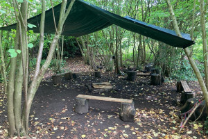 readyforrain.jpg - Woodland wellbeing centre for Worcester