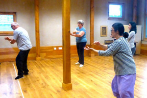 _Tai chi in the hub1.jpg - Eat, drink, learn and play