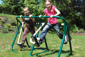 children on walker.jpg - Vicarage Lane Play Park