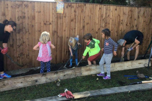 kids.jpg - Tritton Vale Pocket Garden Goes Greener!