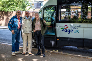 Help buy a new minibus for older people