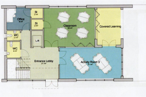 initial-ground-floor-plan.jpg - Project Hive - Social Space in Leicester