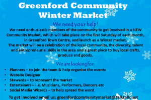 volunteer poster A4 - winter market.png - Greenford Community Winter Market