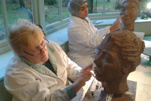 head-sculpting.jpg - New Pottery for Gateshead