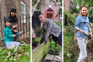 Support 'Bethnal Green Fingers' Gardens