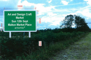 Malton Interchangeable Sign.jpg - Interchangeable information signs