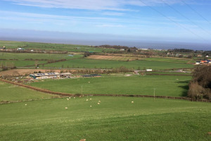 farm-and-dunster-march-from-quarry.jpg - Save Our College Farm Minehead