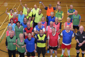 Walking Football development