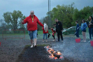 red-kite-fire-walk-3.jpg - Live Broadcasting for Red Kite Radio