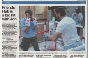 f-h-leicester-mercury.jpg - Punch out drugs - Highfields Boxing