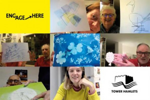 Artists with Dementia in Tower Hamlets