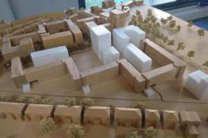 model-of-new-build-from-queens-drive.jpg - A vibrant new community space in Hackney