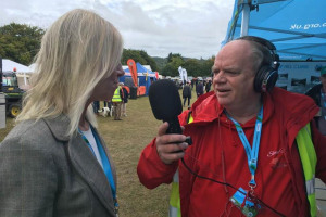 steve-interviewing-3.jpg - Live Broadcasting for Red Kite Radio
