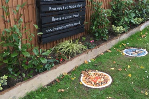 sign.jpg - Tritton Vale Pocket Garden Goes Greener!