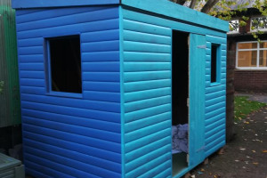re-painted-shed.jpg - Leonard Cheshire Linskill Garden Project