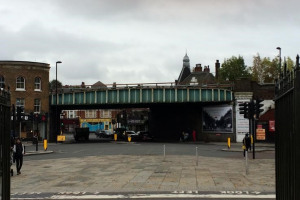Bridge today.jpg - Herne Hill Railway Bridge illumination