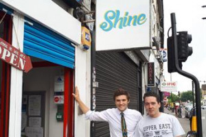 Creating the Shine Cafe, Turnpike Lane