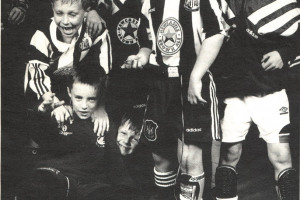 nufc_younguns.jpg - Rebuilding Wallsend Boys Club
