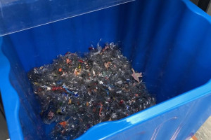 shredded-plastic.jpg - Plastic recycling scheme