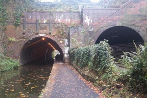 Edgbaston Canal Tunnel, Birmingham