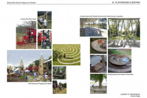 01-tarling-rd-playground-seating.jpg - Barnet's First Multi-Sensory Playground