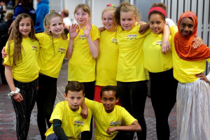 wwyd-group-yellow-t-shirts.jpg - Children Create Safer Communities