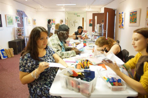workshop-at-cooltan-arts.jpg - Get creative & have fun whilst you shop!