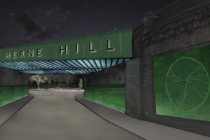HHP bridge elev render RevA.jpg - Herne Hill Railway Bridge illumination