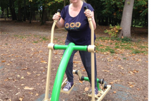 Outdoor gym in Broadfield
