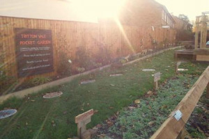 Tritton Vale Pocket Garden Goes Greener!