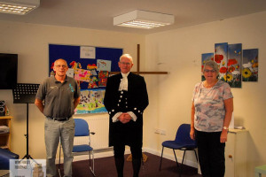 visit-from-high-sheriff.jpg - Wyre Forest Foodbank Christmas Special