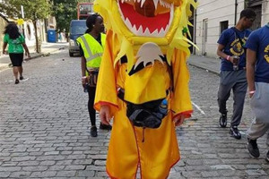 dragon-for-spacehive.jpg - Costumed Group in Notting Hill Carnival