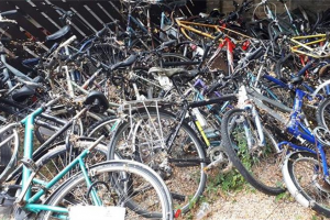 bikes-donated.jpg - Community Bike Recycling Project