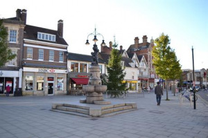 Festive lights for Enfield Town