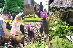 dig-and-fizz.jpg - Tritton Vale Pocket Garden Goes Greener!