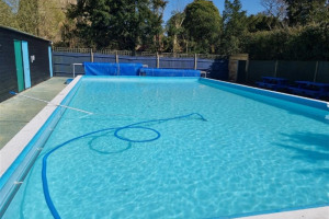 pool.jpg - New equipment for Cowfold Community Pool