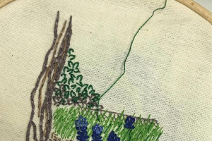 embroidery.jpg - #whoseheritage  A Heart of Hackney Park