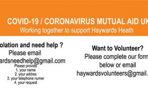 Haywards Heath Covid-19 Mutual Aid
