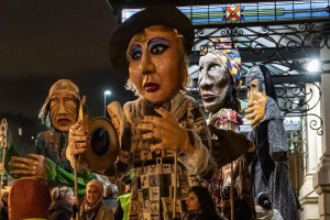 weeping-sisters-parade-2020.jpg - Friendship through puppets Dewsbury