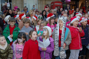 tad choir singers.jpg - Lighting Up The Town of Tadcaster